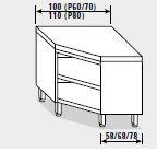 Tavoli armadi ad angolo linea LG4000