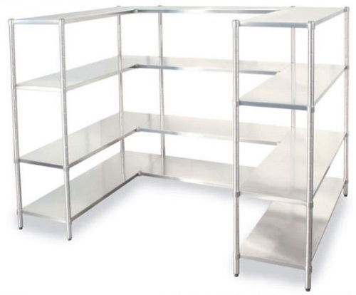 Stainless steel Shelves and racks for storage