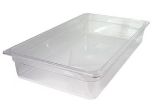 GST2/1P200P Gastronorm Container 2 / 1 h200 polycarbonate