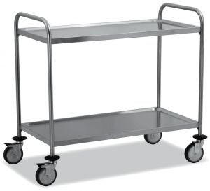TEC1106 Technical stainless steel AISI 304 Cart 100x50x95h