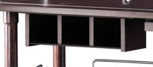 A200W Cassetto portaposate a 3 scomparti WENGE'