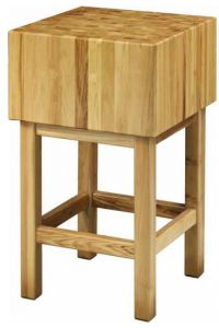 CCL3586 35cm wooden block with 80x60x90h stool