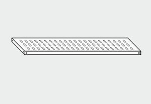 EU78064-14 ripiano forato per scaffale ECO cm 140x40x4h