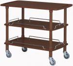 TCLP 2003W Carrello servizio legno wenge 3 piani 110x55x89h