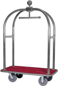 TPV 2001I Stainless steel Trolley luggage rack and hanger