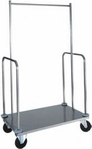 TPVI 4024 Stainless steel luggage and clothing stands