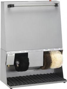 LU4120 Macchina pulisci e lucida scarpe bianca 62x30x83h