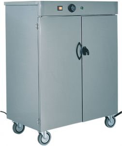 MS1862 Stainless steel Plate warming cabinet Capacity 100 plates - 1 DOOR