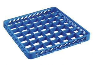 TRIA49 Elevation with 49 compartments for dishwasher racks 50x50 h4,5 blue