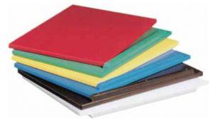 P60402 WHITE cutting board in polyethylene 60x40x2h
