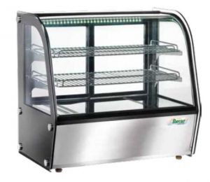 TVPH 100 Ventilated tabletop heated showcase 71x46x67h