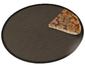 AV4957 Professional aluminium round pizza screen Ø45cm