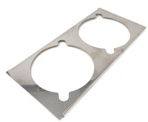 VGCV-GESUP Stainless steel support for 2 mini carapins