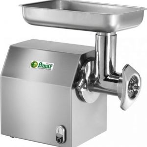 12CM Electric meat grinder in stainless steel - Single phase
