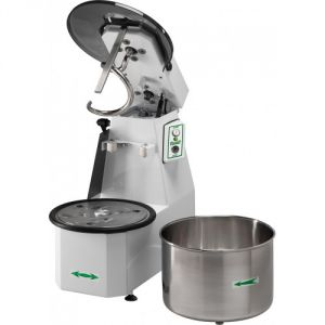 12CNSM Spiral kneader liftable head 12 kg cicle dough 16 liters removable tank - Single phase