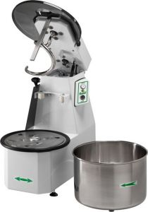 25CNSM Spiral kneader Liftable head 25 kg cicle dough 32 liters removable tank - Single phase