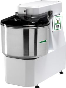 25SNT Spiral kneader 25 kg cicle dough 32 liters tank - Three Phase