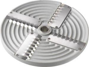 4PZ8 4blades corrugated disk 8mm for Mozzarella shredding cutter TAS