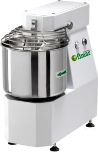7SNT Spiral kneader 7kg cicle dough 10 liters tank - Three Phase