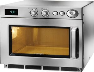 CM1919A Samsung microwave oven in stainless steel 3,2 kW manual 26 liters