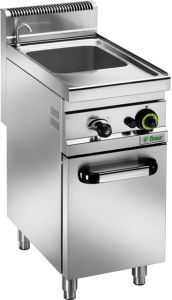 CPM30M Gas pasta cooker with cabinet 25 liters basin