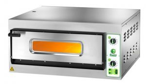 FES4M Electric pizza oven 4.2 kW 1 room 66x66x14h - Single phase