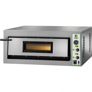 FMD4M Electric oven digital pizza 6 kW 1 room 72x72x14h cm - Single phase