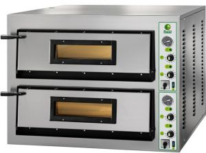 FML99 Forno elettrico pizza 26,4 kW doppia camera 108x108x14h cm