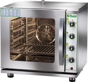 FN423GV Convection oven LPG gas Gastronomy 4XGN 2/3 with umidifier