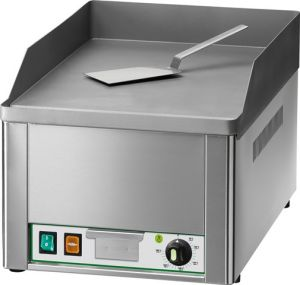 FRY1L Single phase electric benchtop griddle 3000W single plane - smooth