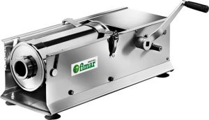 LT7OR Insaccatrice manuale inox 7 litri orizzontale