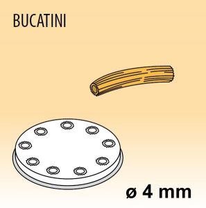 MPFTBU25 Brass bronze alloy nozzles BUCATINI for pasta machine