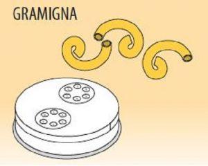 MPFTGR4 Brass bronze alloy nozzles GRAMIGNA for pasta machine