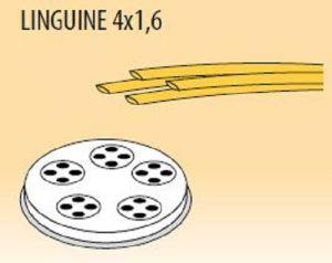 MPFTL4X16-4 Trafila LINGUINE 4x1,6 per macchina per pasta fresca