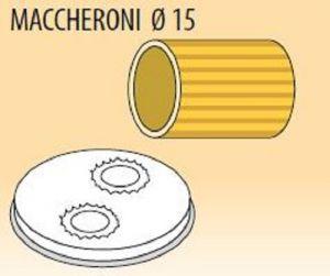 MPFTMA15-8 Brass bronze alloy nozzles MACCHERONI Ø 15 for pasta machine