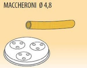 MPFTMA4-15  Brass bronze alloy nozzles MACCHERONI Ø 4,8 for pasta machine