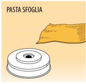 MPFTPF15 Trafila PASTA SFOGLIA per macchina per pasta fresca
