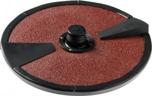 PAB Abrasive carborundo dish for potatoes, onions and carrots PPN-PPF 5-10-18Kg