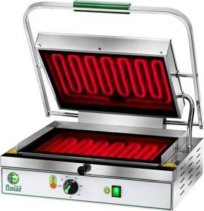 PV40LR Piastra cottura in vetroceramica singola liscia/rigata monofase 2000W