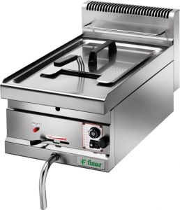 SF10M Gas fryer counter 6,9 kW container 10 liters