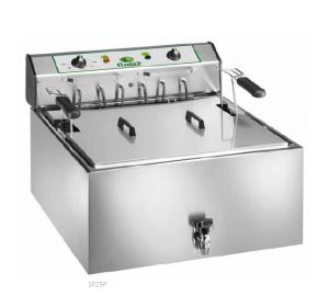 SF25P Electric counter fryer 25 liters basin 9 kW three-phase big basket