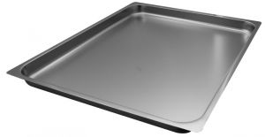 FNC2/1P040 Gastronorm 2 / 1 h40 AISI 304 stainless steel flat edge
