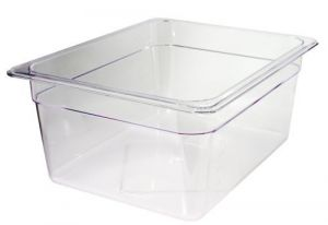 GST1/2P100P Gastronorm Container 1 / 2 h100 polycarbonate