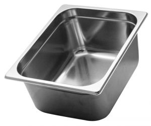 GST1/2P150 Gastronorm Container 1 / 2 h150 mm Stainless steel AISI 304