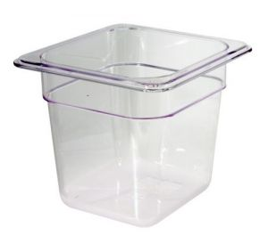 GST1/6P100P Gastronorm Container 1 / 6 h100 polycarbonate
