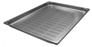 GST2/1P040F Gastronorm Container 2 / 1 h40 perforated stainless steel AISI 304