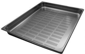 GST2/1P065F Contenitore Gastronorm 2/1 h65 forato in acciaio inox AISI 304