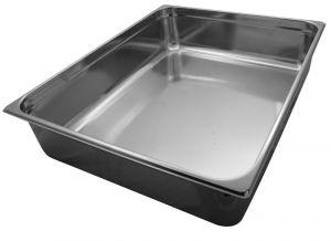 GST2/1P150 Contenitore Gastronorm 2/1 h150 mm in acciaio inox AISI 304