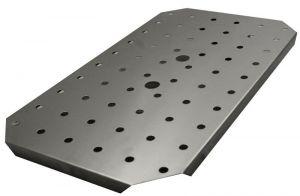 GSTFF11 Falso fondo per GN 1/1 in acciaio inox AISI 304
