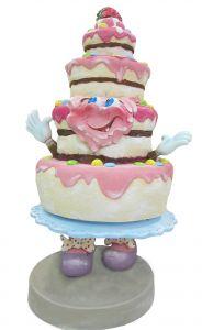 SR062 Cake - 3D advertising cake for gastronomy height 180 cm